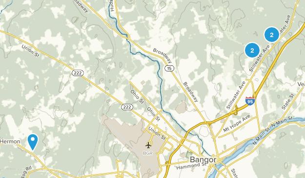 Bangor, Maine Kid Friendly Map