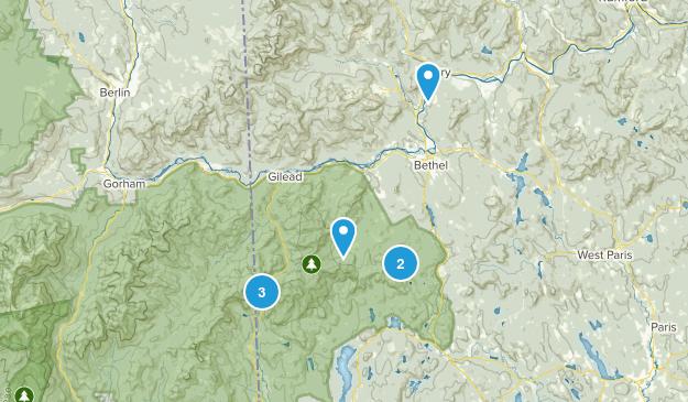 Bethel, Maine Birding Map