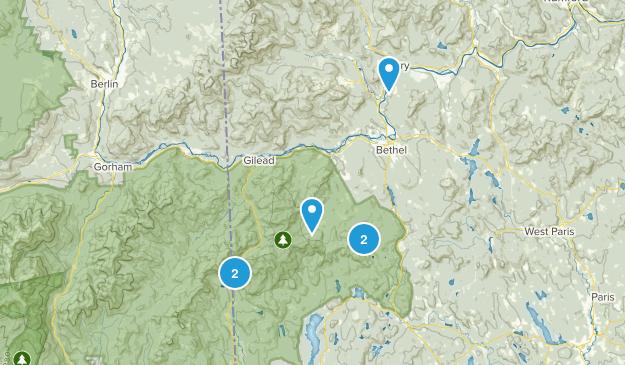 Bethel, Maine Walking Map