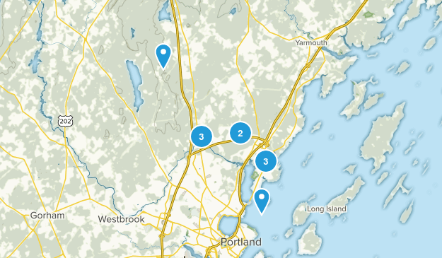 Falmouth, Maine Kid Friendly Map