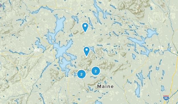 Greenville, Maine Views Map