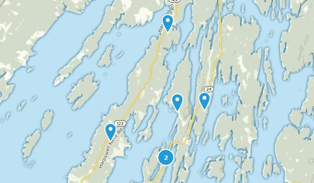 Harpswell, Maine Birding Map