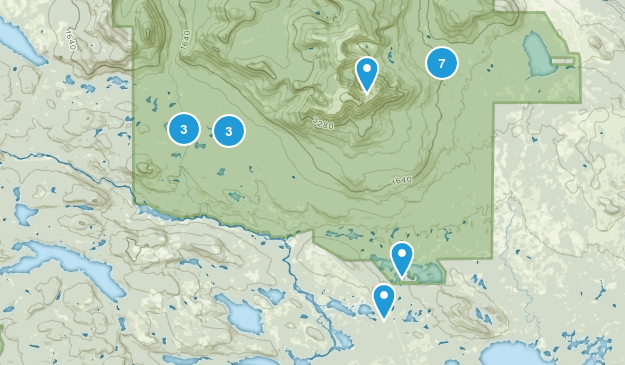 Millinocket, Maine Birding Map
