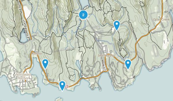 Seal Harbor, Maine Birding Map