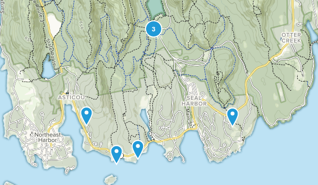 Seal Harbor, Maine Kid Friendly Map