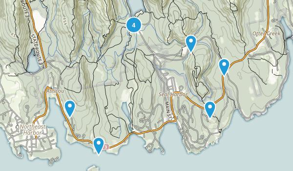 Seal Harbor, Maine Views Map