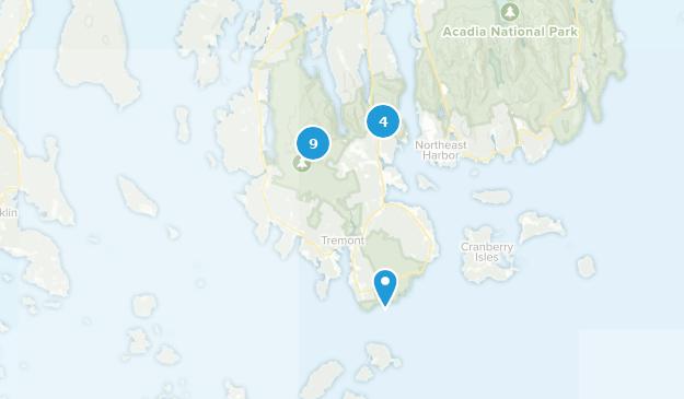 Southwest Harbor, Maine Wildlife Map