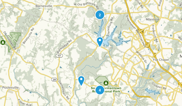 Boyds, Maryland Nature Trips Map