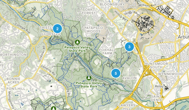 Catonsville, Maryland Wildlife Map