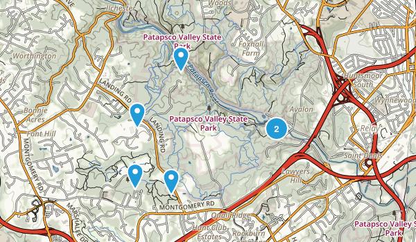 Elkridge, Maryland Birding Map