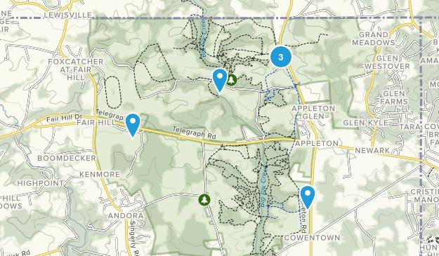 Elkton, Maryland Walking Map
