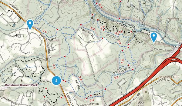 Ilchester, Maryland Birding Map