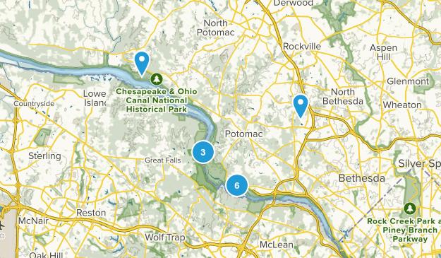 Potomac, Maryland Kid Friendly Map
