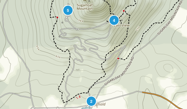 Stronghold, Maryland Walking Map