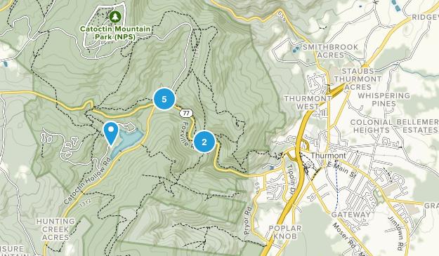 Thurmont, Maryland Birding Map