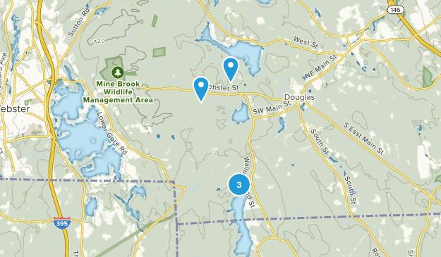 Douglas, Massachusetts Views Map