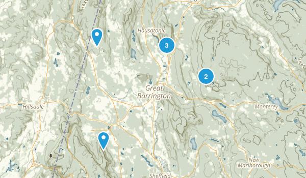 Great Barrington, Massachusetts Birding Map