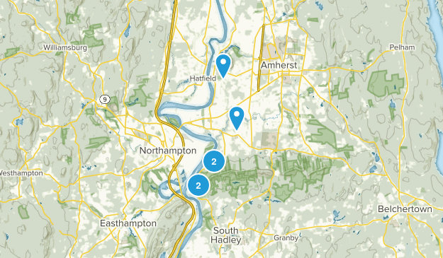 Hadley, Massachusetts Kid Friendly Map