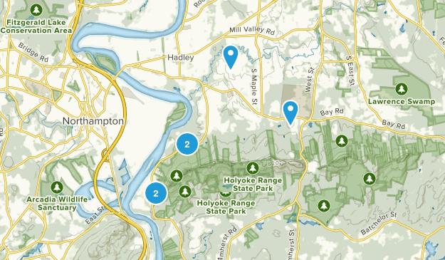 Hadley, Massachusetts Nature Trips Map