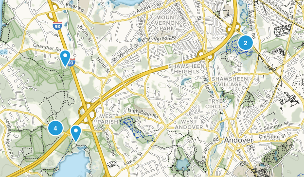 Lawrence, Massachusetts Walking Map