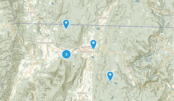 North Adams, Massachusetts Wildlife Map