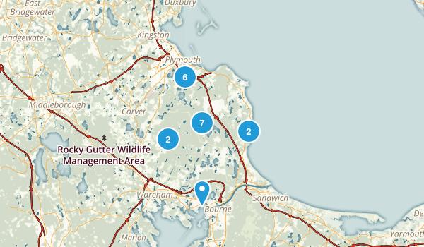 Plymouth, Massachusetts Hiking Map
