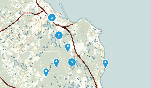 Plymouth, Massachusetts Nature Trips Map