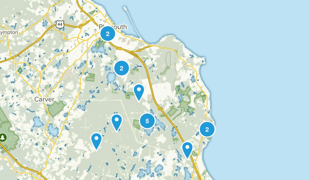 Plymouth, Massachusetts Nature Trips Map
