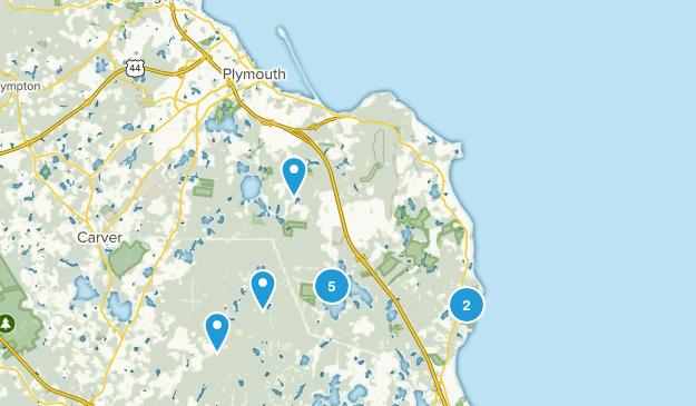 Plymouth, Massachusetts Views Map