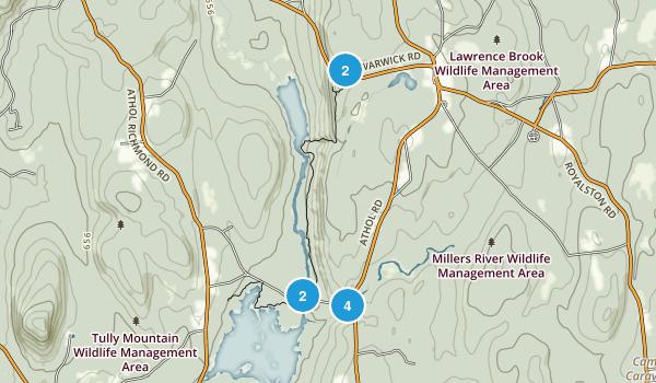 Royalston, Massachusetts Views Map