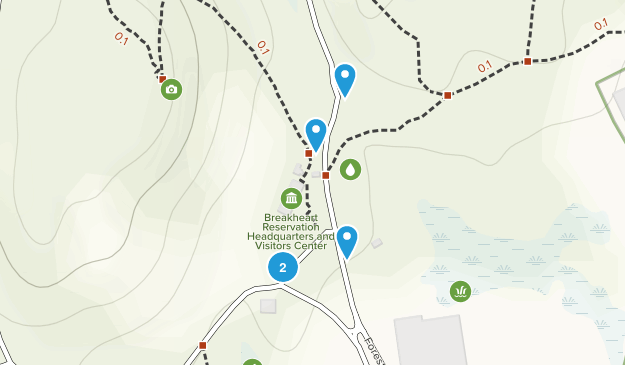 Saugus, Massachusetts Forest Map
