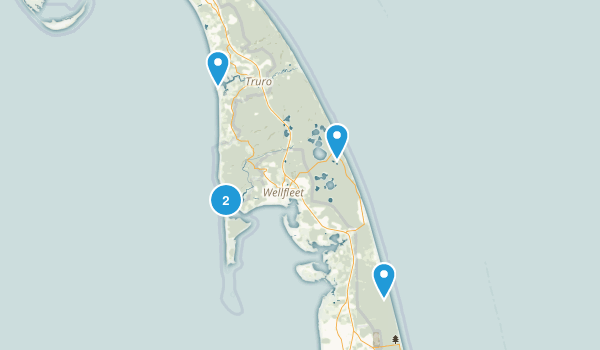 Wellfleet, Massachusetts Hiking Map