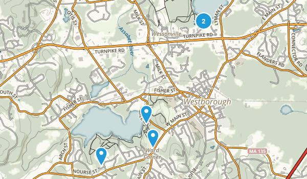 Westborough, Massachusetts Birding Map