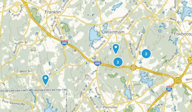 Wrentham, Massachusetts Nature Trips Map