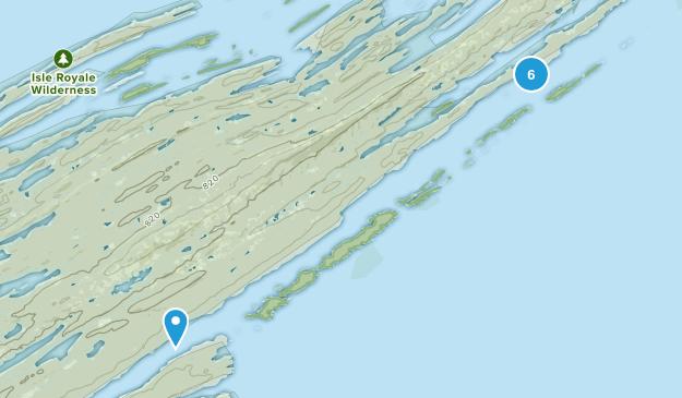 Houghton Twp, Michigan Views Map