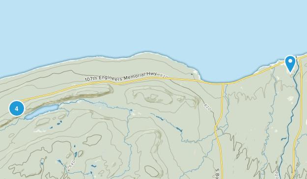 Ontonagon, Michigan Views Map