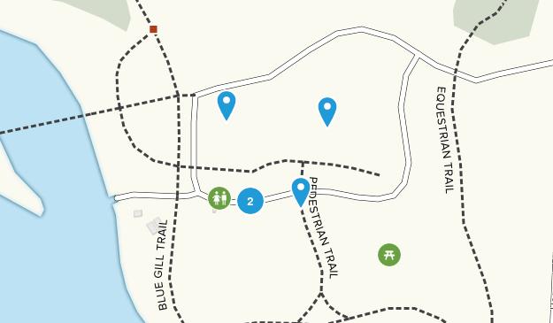 Sumpter, Michigan Hiking Map