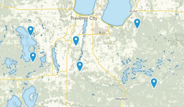 Traverse City, Michigan Wildlife Map