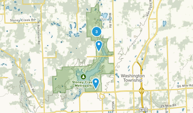 Washington, Michigan Kid Friendly Map