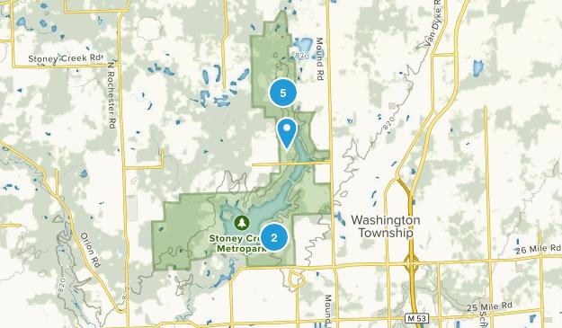 Washington, Michigan Walking Map
