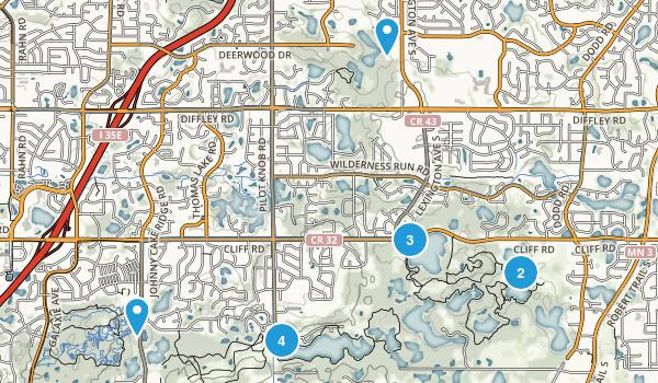 Eagan, Minnesota Forest Map