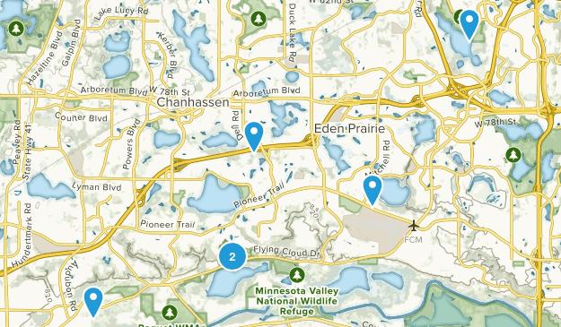 Eden Prairie, Minnesota Views Map
