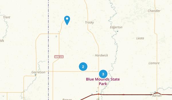 Jasper, Minnesota Hiking Map