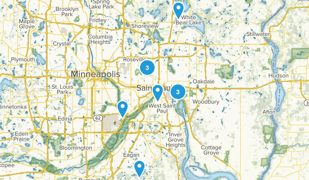 Saint Paul, Minnesota Kid Friendly Map