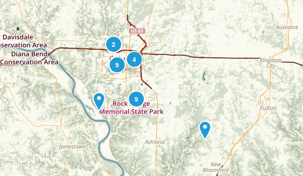 Best hiking trails near columbia missouri alltrails columbia missouri hiking map publicscrutiny Image collections