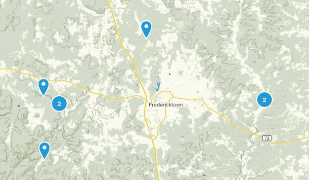 Fredericktown, Missouri Views Map