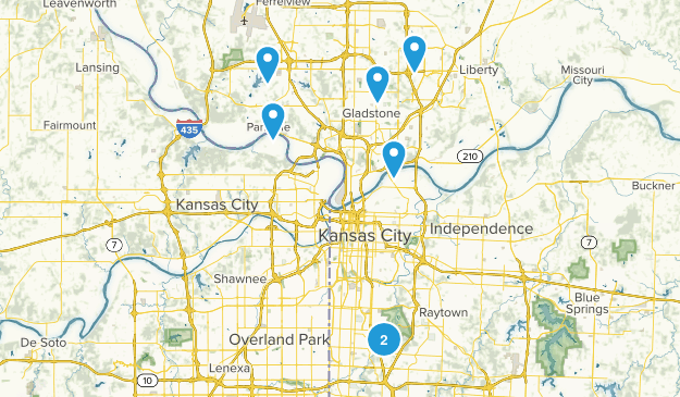 Kansas City, Missouri Birding Map