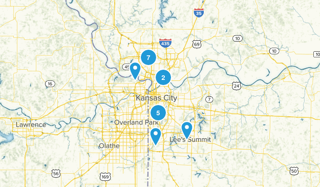 Kansas City, Missouri Kid Friendly Map