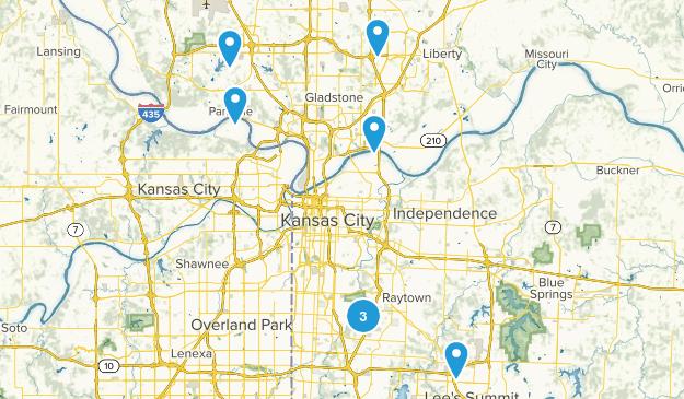 Kansas City, Missouri Wildlife Map
