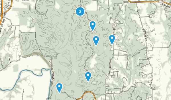 Troy, Missouri Nature Trips Map